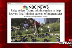 Trump WH ordered to help find 'missing parents'