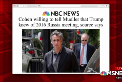 What does Cohen stand to gain from new revelation?