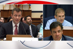 Jordan presses Strzok on Trump dossier