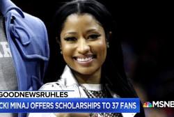 #GoodNewsRUHLES: Nicki Minaj offers scholarship money