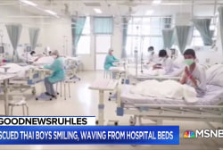 #GoodNewsRUHLES: Thai boys rescued from cave, recovering in hospital