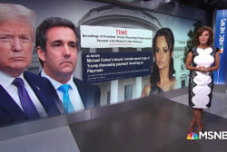 Cohen tape suggests Trump knew about payment to ex-Playmate