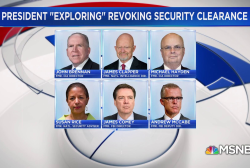 Pettypiece: 'No nat'l security reason' for revoking clearances
