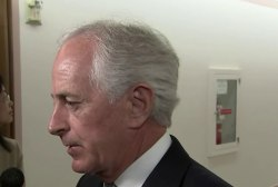 Big Question: Will the President's words today give Senator Corker's push even more momentum?