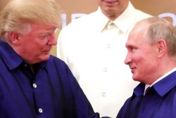 Trump's options for bringing up Mueller's indictment with Putin