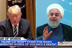 Trump to Iran: Never, ever threaten the United States again