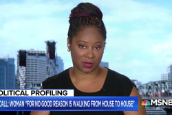 Janelle Bynum speaks out after cops called #campaigningwhileblack