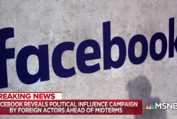 Facebook finds new political campaigns to sow discord