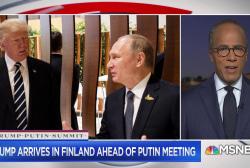 Holt in Helsinki: Atmosphere is low-key ahead of Trump-Putin talks