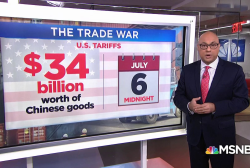 First shots fired in the U.S.-China trade war