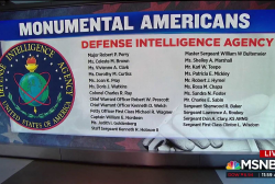 #MonumentalAmericans: Intel agents who died in the line of duty
