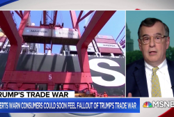 President Trump's trade war might not hurt him politically