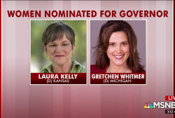 Tuesday a historic night for female candidates