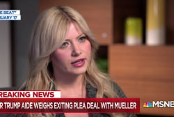 Wife of  fmr. Trump aide: He should scrap Mueller plea deal