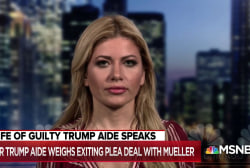 Wife of guilty Trump aide: Why should he be a 'sacrificial lamb'?