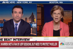 Sen. Warren: 'Not a fan' of Sessions, but need to protect Mueller