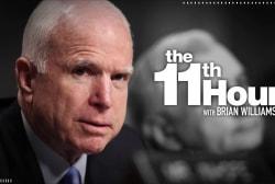 McCain family says the senator has ended brain cancer treatment