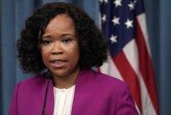 Pentagon spokeswoman under investigation for allegedly misusing staff and complaint retaliation