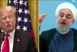 Trump re-imposing trade sanctions on Iran