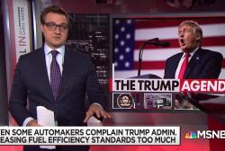 Trump admin unveils plan to weaken fuel efficiency standards