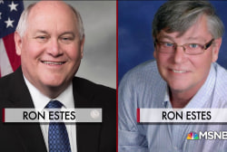 Ron Estes faces off against Ron Estes in Kansas