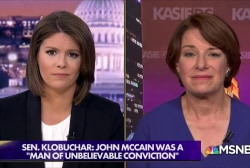 Sen. Klobuchar: McCain was a 'mentor' for female colleagues on the world stage