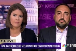 Former Facebook CSO: Russia has not been deterred ahead of 2018 midterms