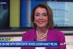One-On-One with House Leader Nancy Pelosi