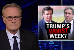 Lawrence: Trump's 'worst week' as top allies talk to feds