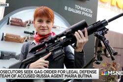 U.S. prosecutors ask judge to gag Mariia Butina lawyer