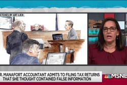 Manafort accountant (with immunity) testifies on bank, tax fraud
