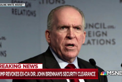 Brennan experience worth less than petty payback for Trump