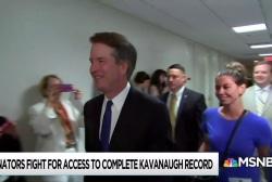 Senate Democrats say documents show Kavanaugh lied under oath