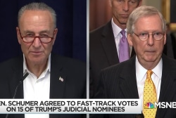 Schumer takes eye off ball in pushback against Kavanaugh vote