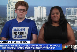 Parkland mother and graduate weigh in on using federal funds to arm teachers