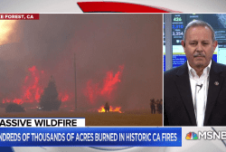 Mendocino fire has become largest in California history