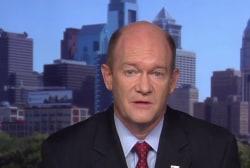 Senator expresses his concerns with Kavanaugh
