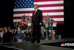 Florida Trump fans berate reporters at rally