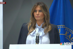 Melania Trump fights cyberbullying