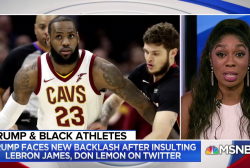 Panel: Trump ridicules black athletes, but not white ones