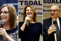 Arizona GOP candidates show voters who supports Trump the most