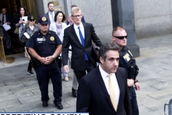 Cohen subpoenaed as result of NY probe into Trump Organization