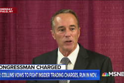 Rep. Chris Collins insists he will be 'fully vindicated and exonerated'