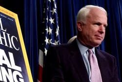 Big Question: Without Senator John McCain, who will put country over party?