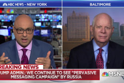 Sen. Cardin: It'd be nice if Trump endorsed new Russia sanctions