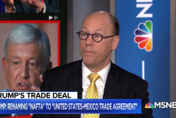 Trump announces trade deal with Mexico