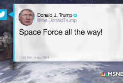 """Space Force all the way!"""