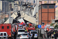 Death toll of Italy bridge collapse expected to rise dramatically