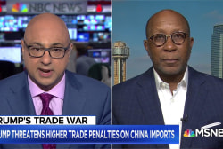 China is calling President Trump's new tariffs 'blackmail'