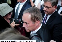 Rep. Chris Collins denies charges of insider trading
